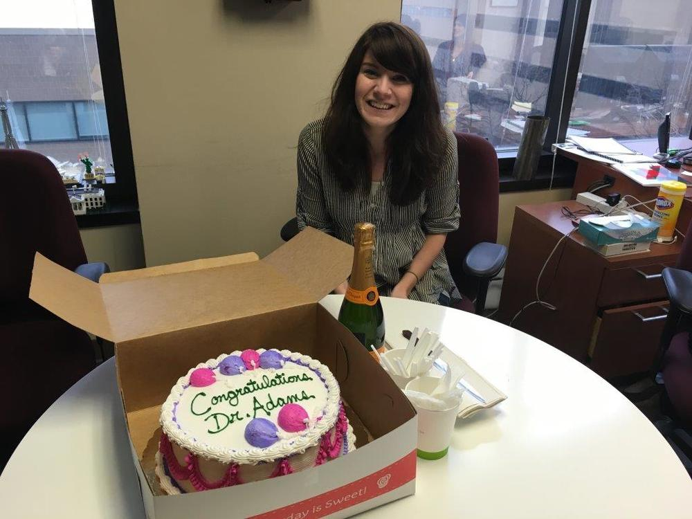 Congrats to Dani Adams for being accepted to the AM/PhD program at the University of Chicago, School of Social Service Administration!