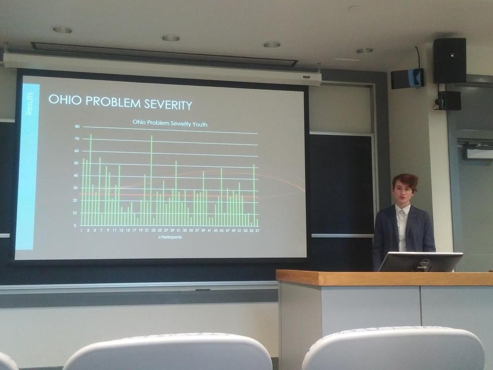 "2016 CWiC Emerging Scholar Kathryn DeWitt, College '18 ""Preventing Suicide in Trauma Treatment"""