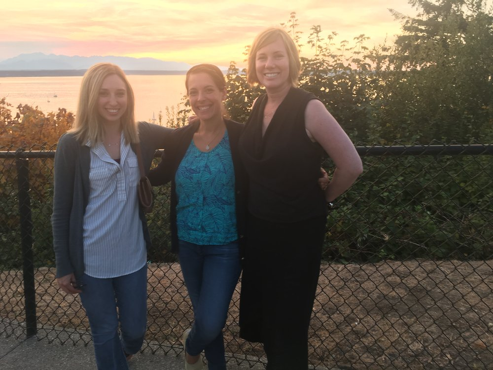 Rinad Beidas, PhD and Emily Becker Haimes, PhD visit with collaborator Shannon Dorsey, PhD in Seattle, Washington (August, 2016)