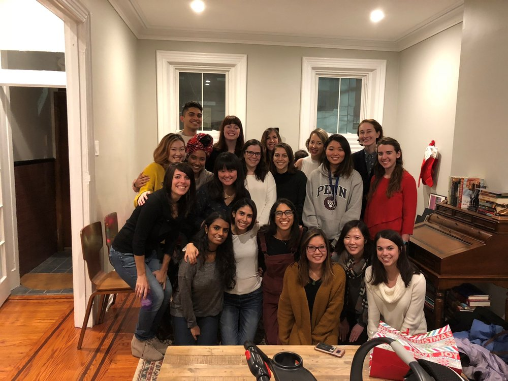 Annual Beidas Lab Holiday Party at Rinad's house on 12/08/2017