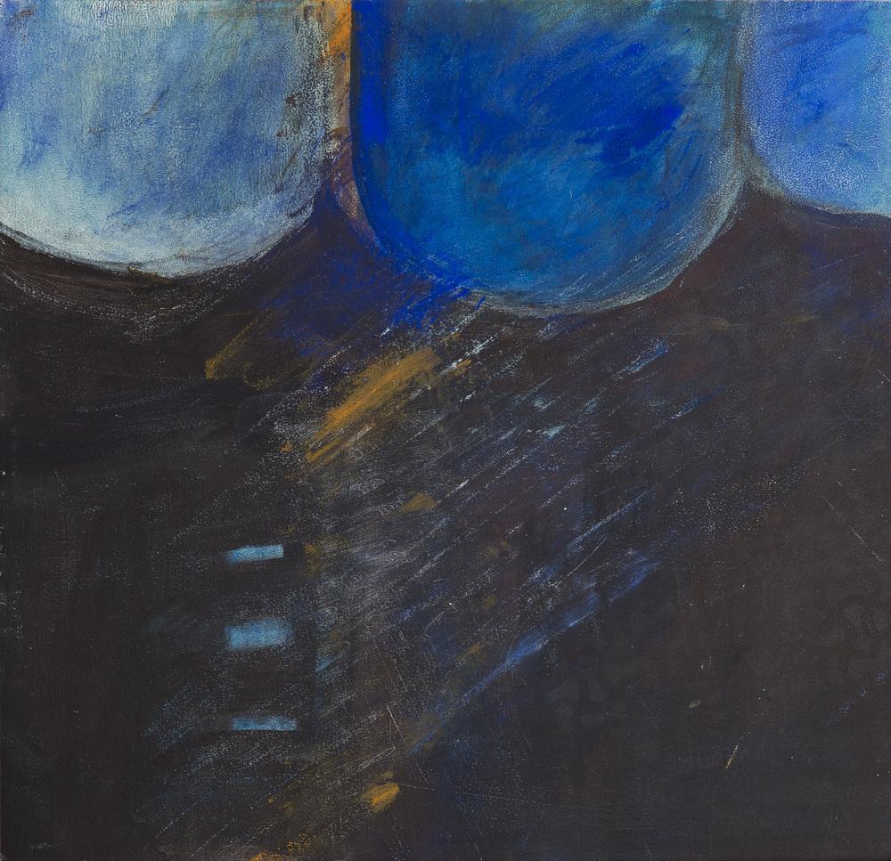 Leuchtendes Späthimmelblau