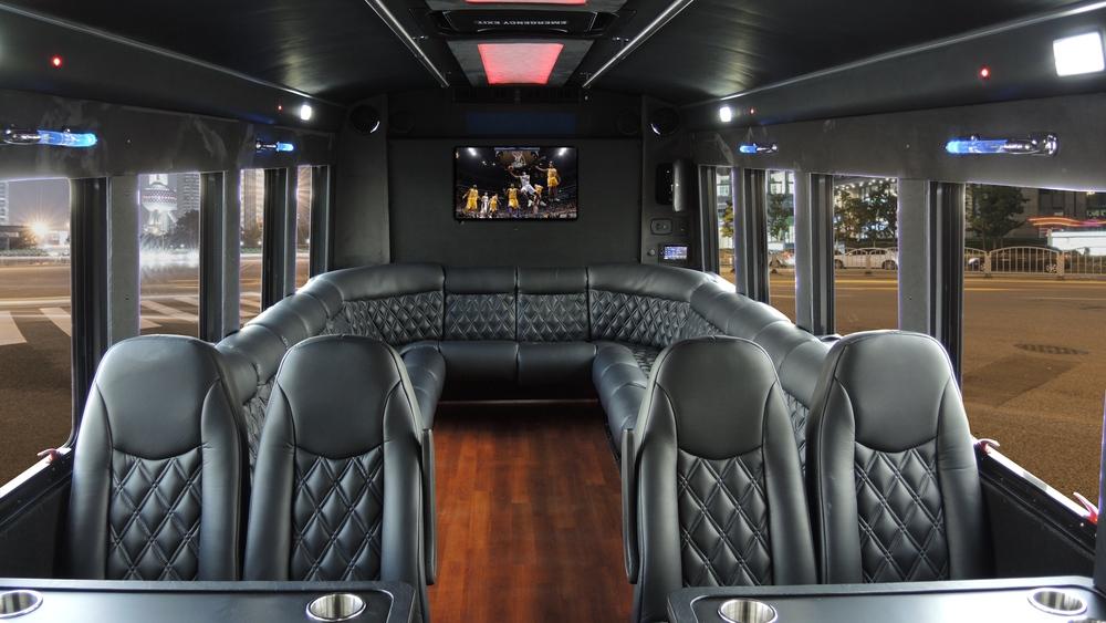 Limousine Party Bus - Richmond Tacky Light Tour