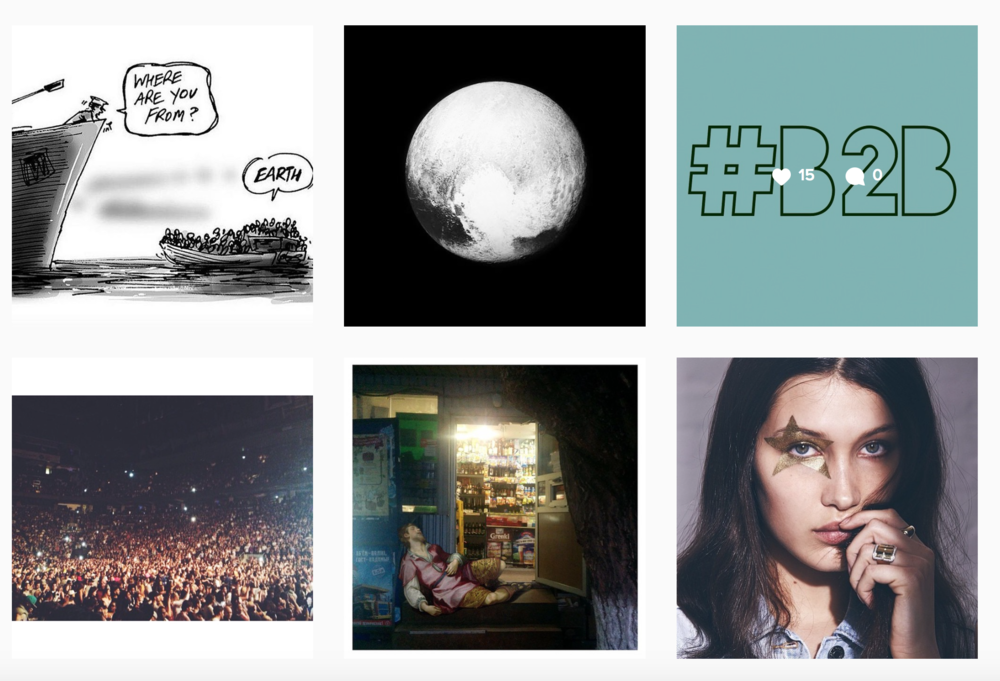 Follow our Instagram gallery and see what inspires us in our city and abroad!