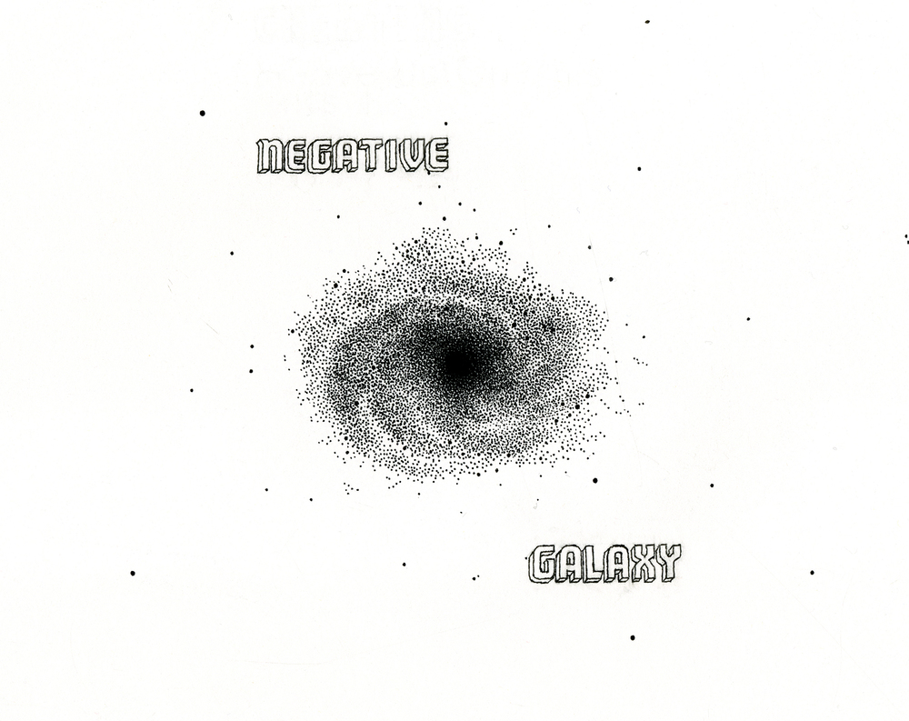 Negative Spiral Galaxy