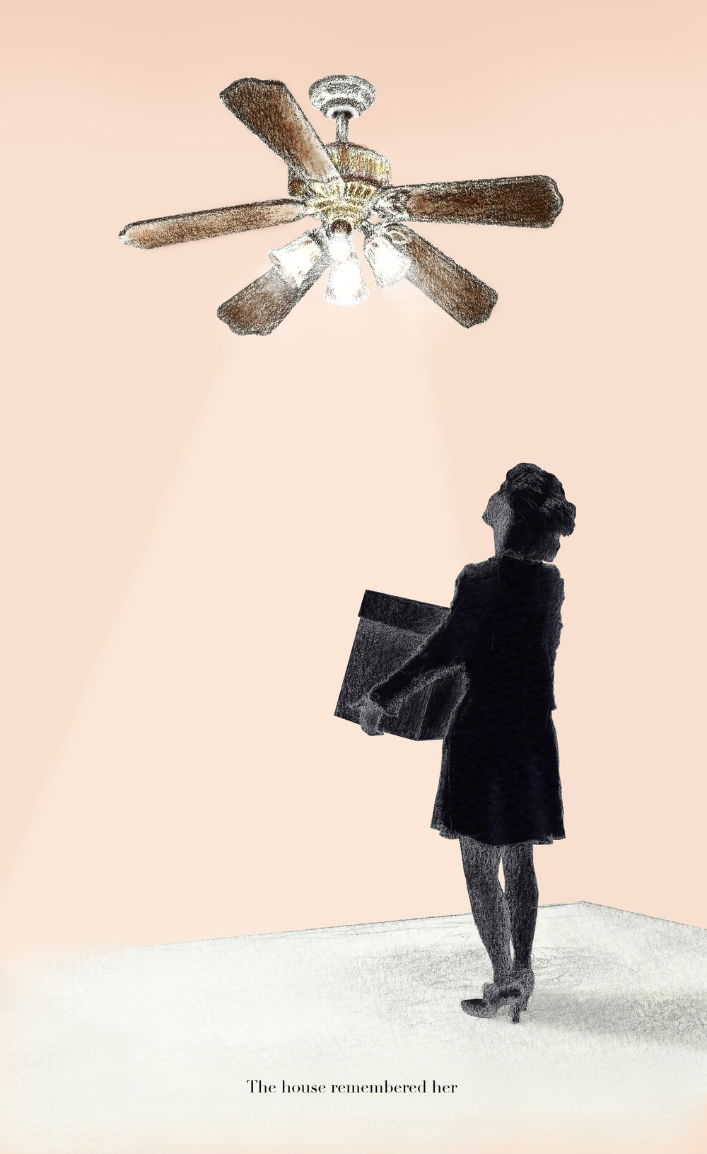 "Illustration for ""Indoor Fireworks"" by Myke Johns,  Creative Loafing Atlanta , January 10, 2013."