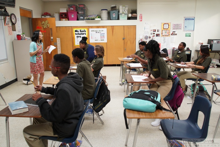 "Teaching at ""Holly Hill High School"""