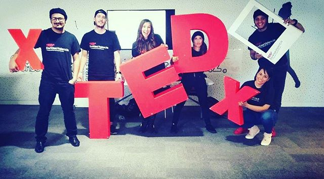 The TEDxBerkleeValencia 2016 TEAM says a BIG HI to You! ✌️ #connectingthedots #comingsoon