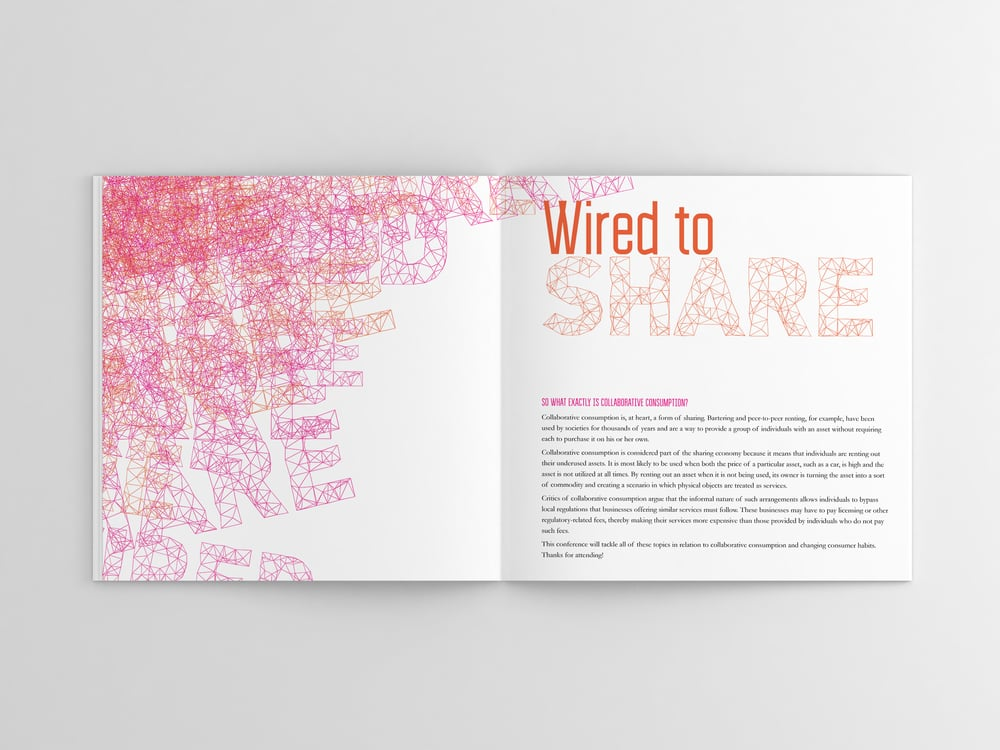 Wired 2 Share Conference Booklet
