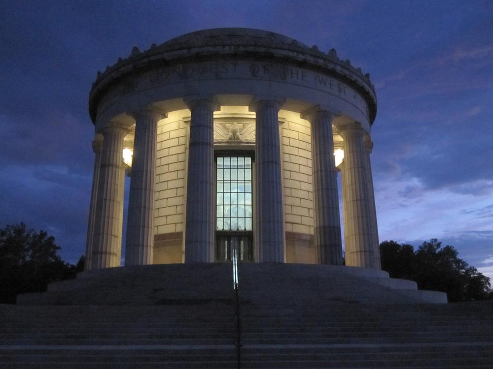 NPS - GEORGE ROGERS CLARK MEMORIAL