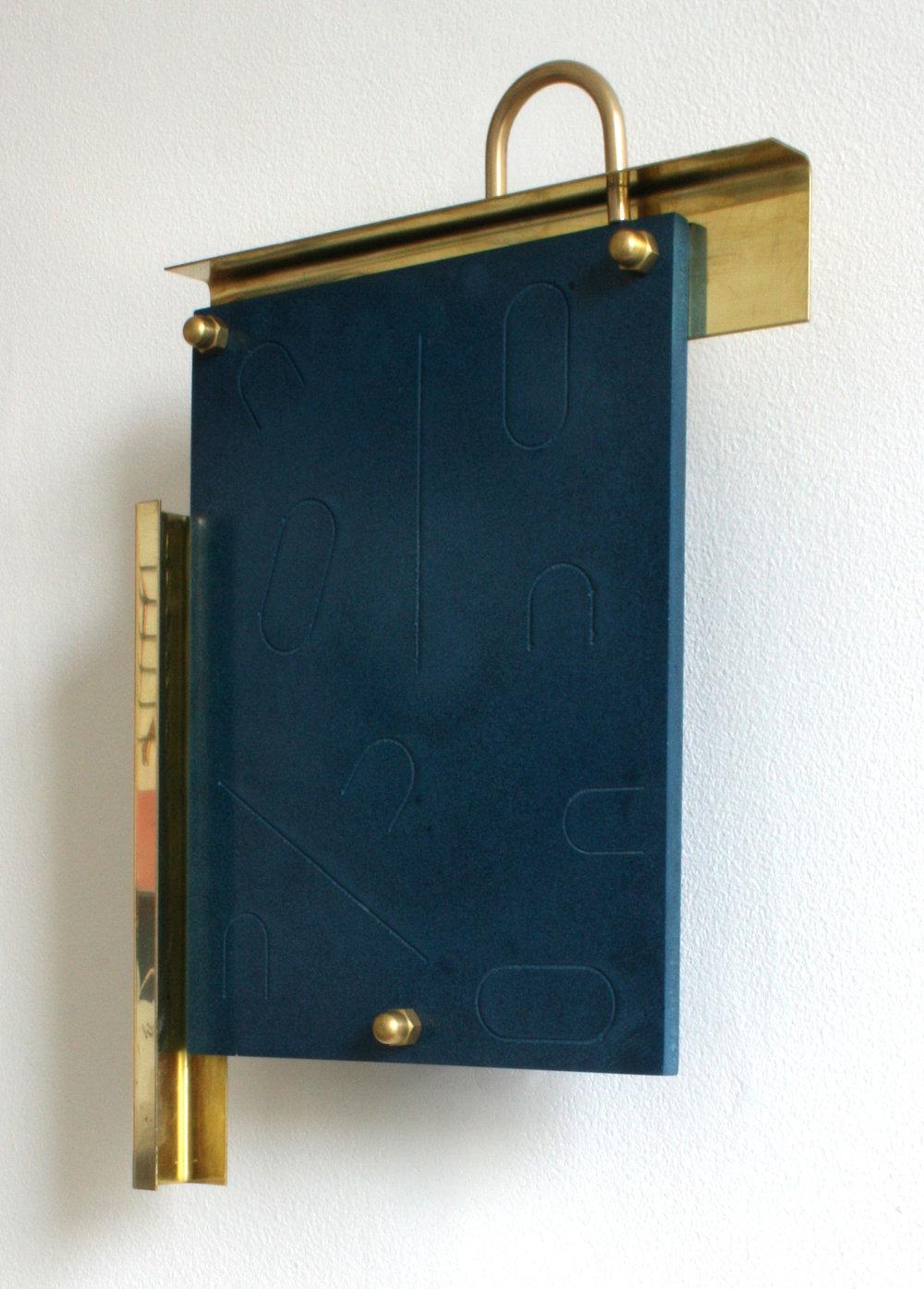 Jazz,Jesmonite and brass, 21 x 31 x 6.5 cm, 2016