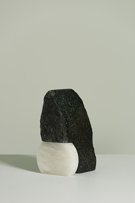 Hunch Polyphant & Alabaster 32 x 12 x 20cm, 2017