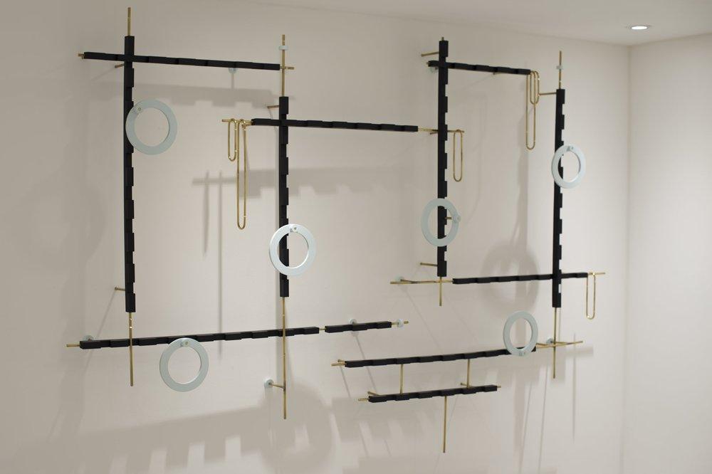 Deco Dreamer Brass, jesmonite 150 x 220 x 20 cm, 2016