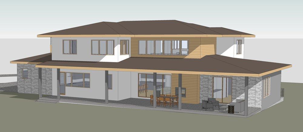 Ravulapati Residence3 - 3D View - REAR.jpg