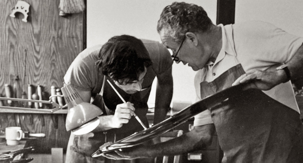 Francis Morris with Hans Weisshaar/ 1980
