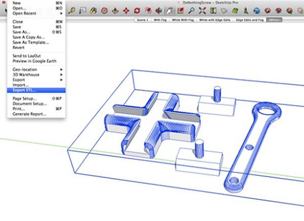 Projetos em SketchUp funcionam para a impressão 3D? - Então você possui um projeto em SketchUp e quer transformá-lo em realidade com o uso da impressão 3D?Infelizmente não é tão fácil quanto parece, mas temos a solução!