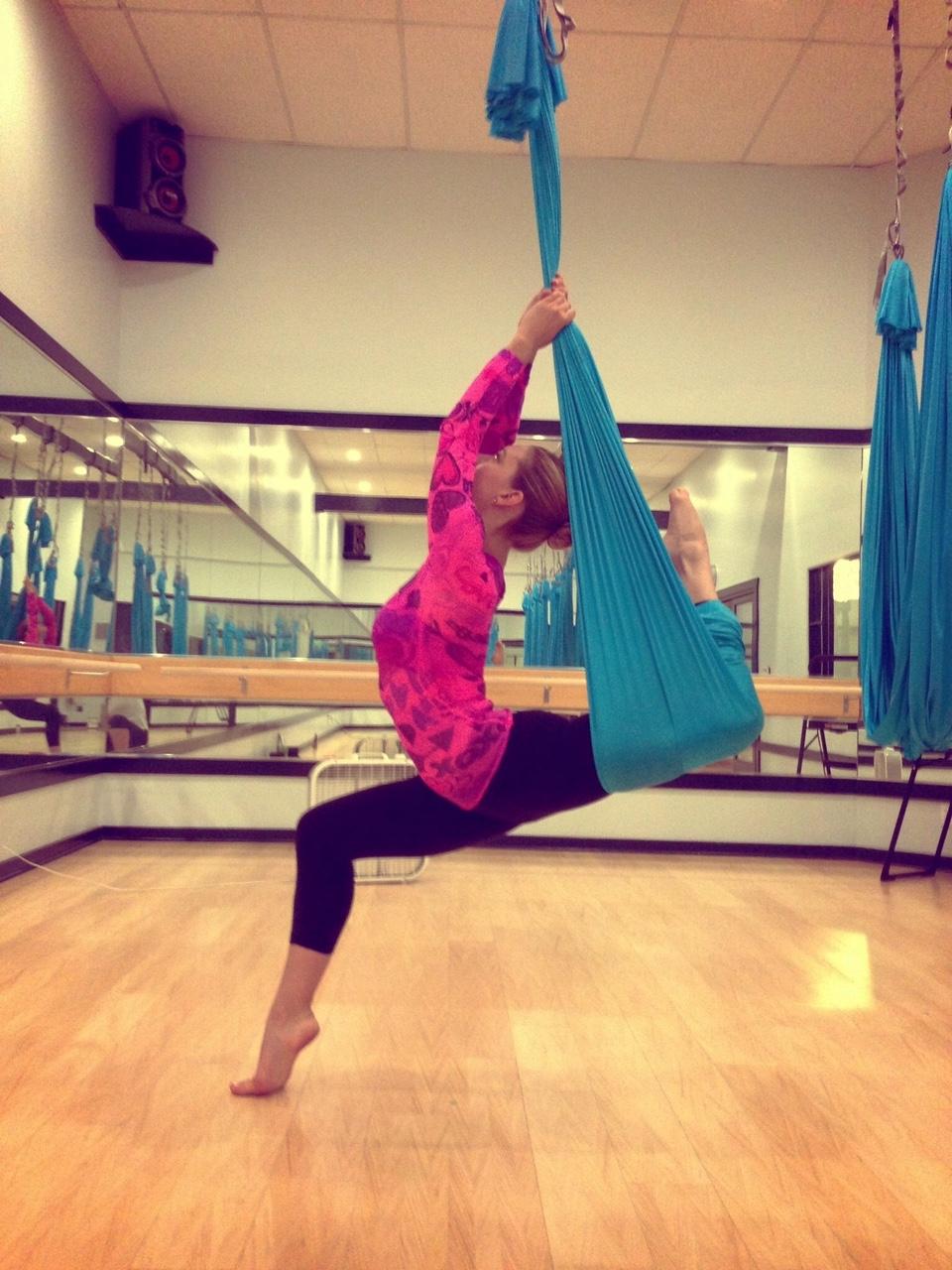 13 September 2013. Calabasas, CA. Anti-gravity fitness.