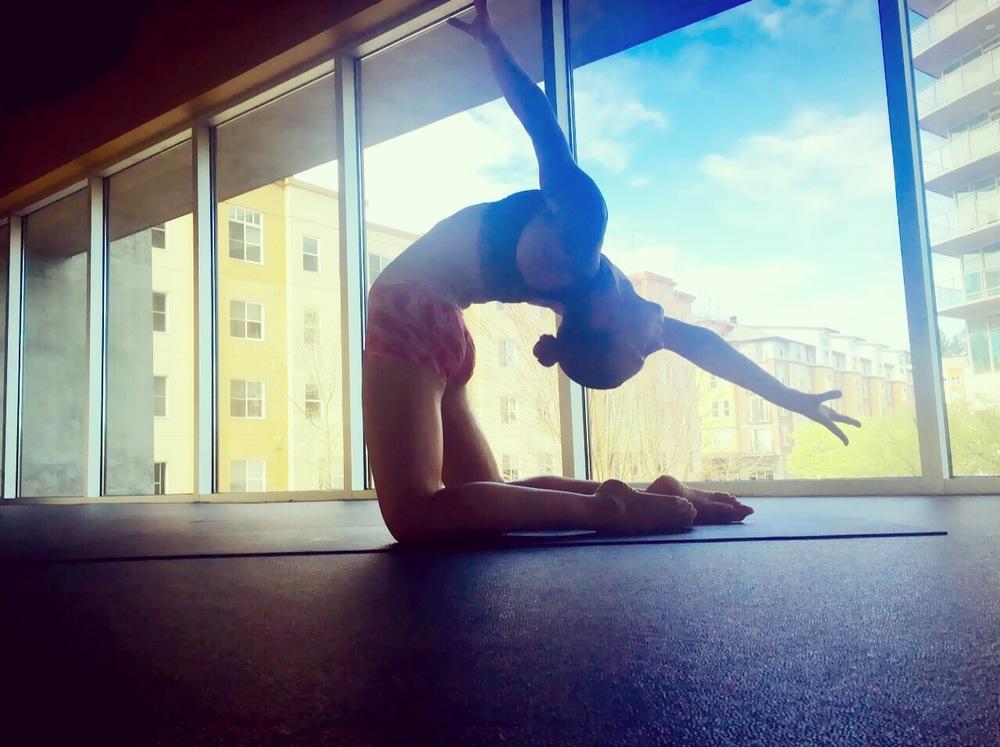 26 March 2016. Seattle, WA. Yoga.