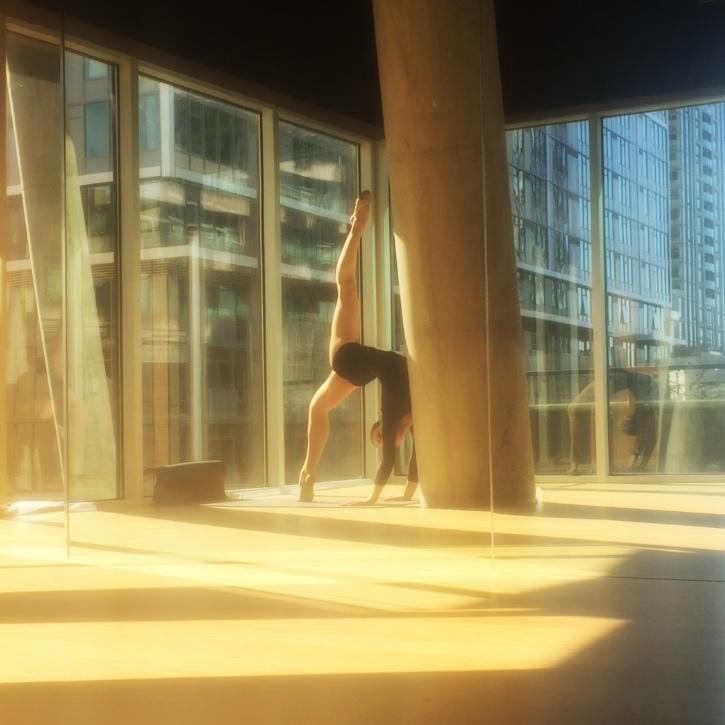 7 April 2016. Seattle, WA. Choreography.