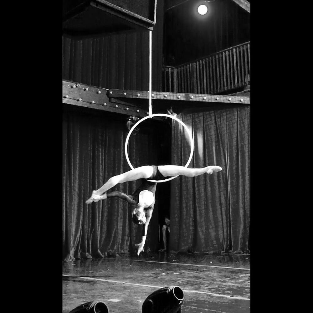 7 May 2016. Seattle, WA. Aerial hoop.