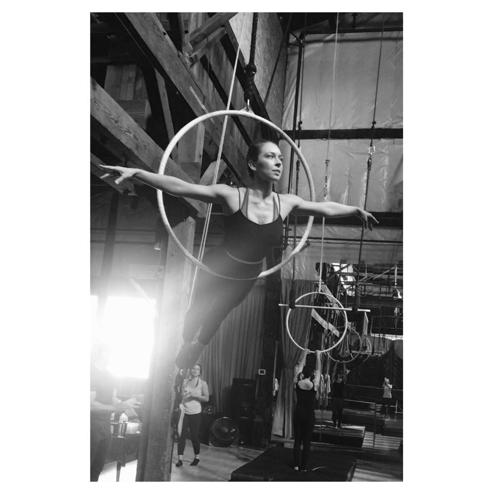 23 May 2016. Seattle, WA. Aerial hoop.