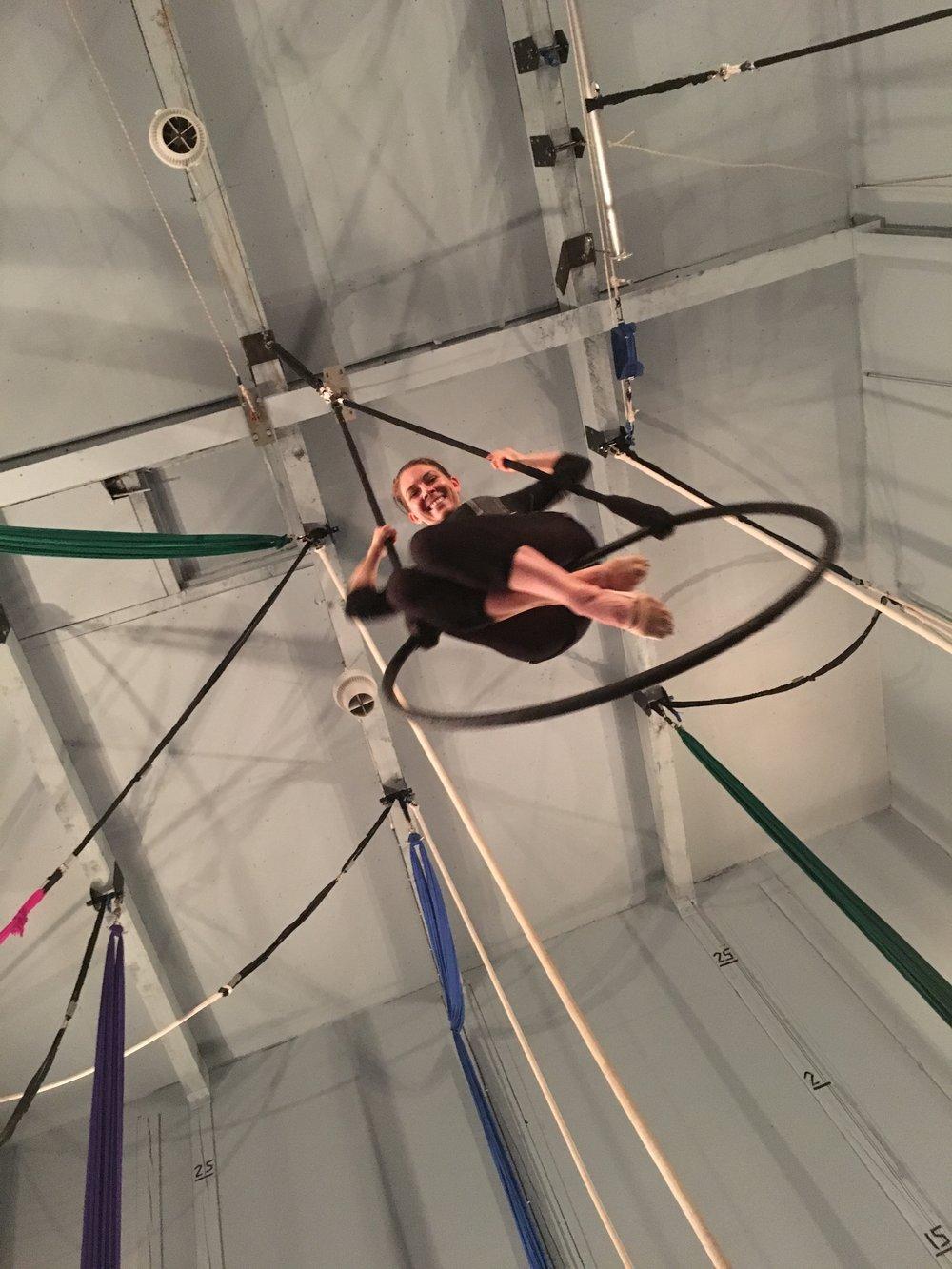 17 October 2016. Seattle, WA. Trapeze Lyra.