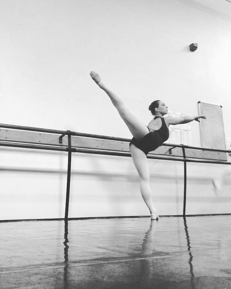 20 June 2017. Irvine, CA. Ballet barre.