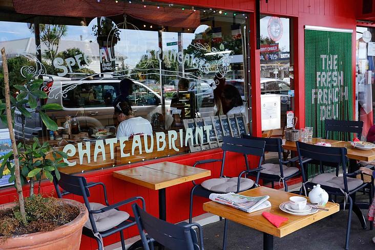 Chateaubriant, situé 87 Vauxhall Road àDevonport, Auckland https://goo.gl/maps/YZychjbEgqE2