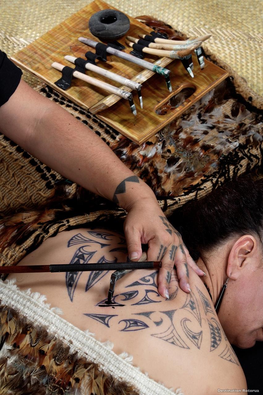 Tatouage Maori Moko