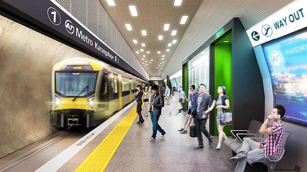 Auckland Transport - Train
