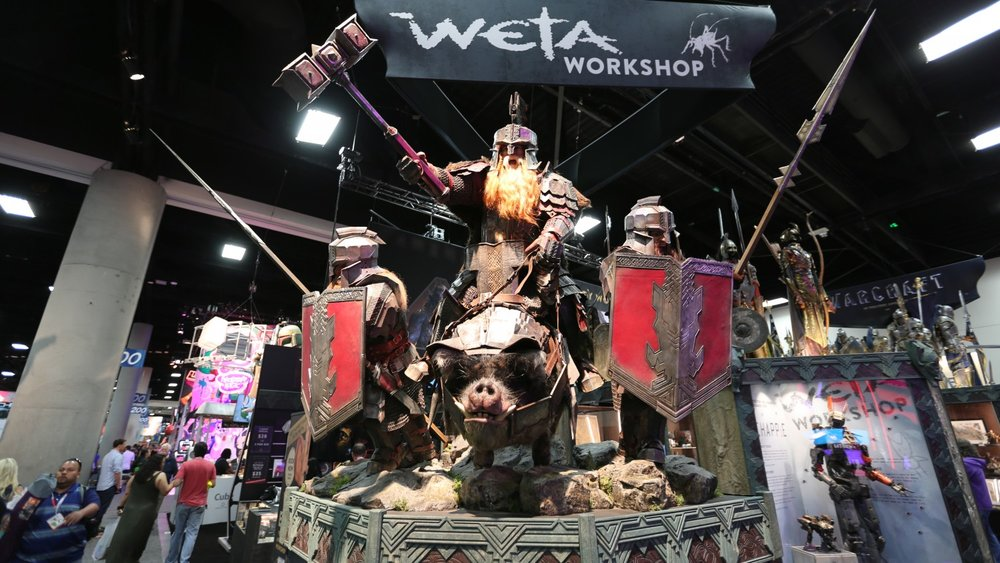 © Weta Workshop au Comic Con de San Diego 2015