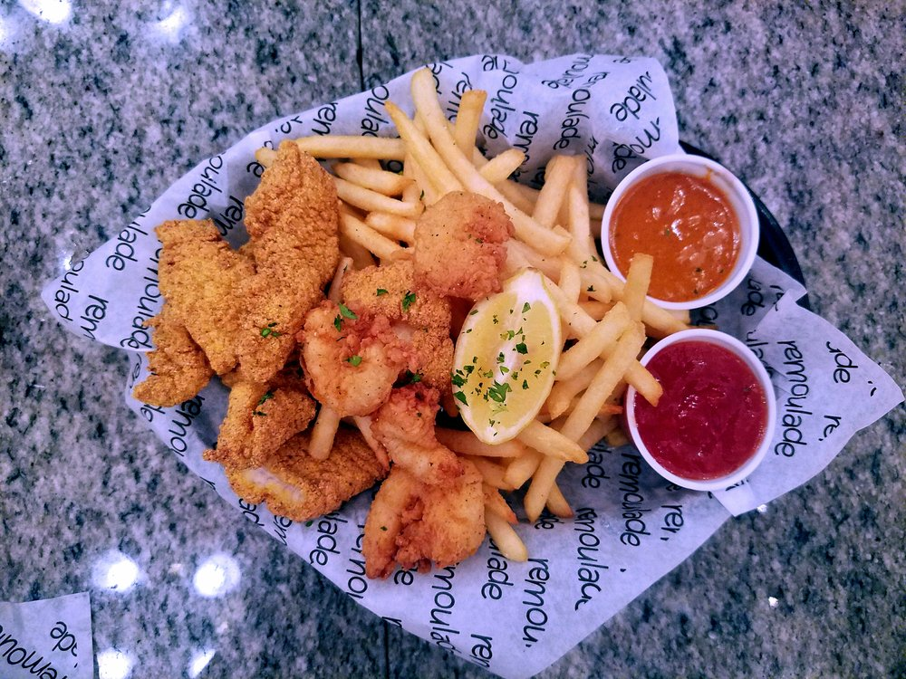 Catfish & Shrimp Basket
