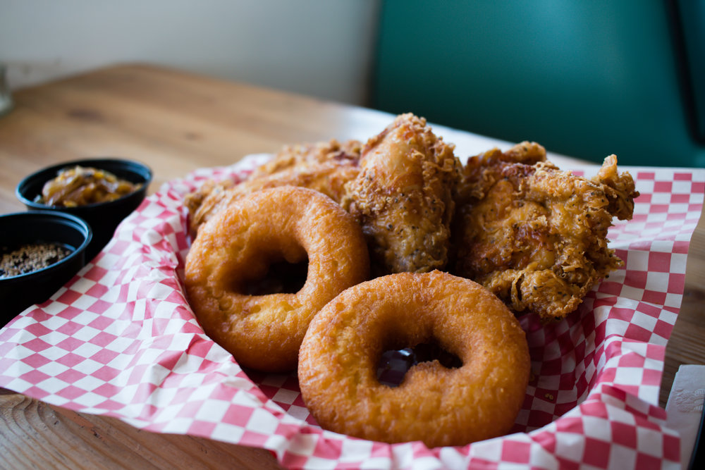 Fried Chicken & Donuts