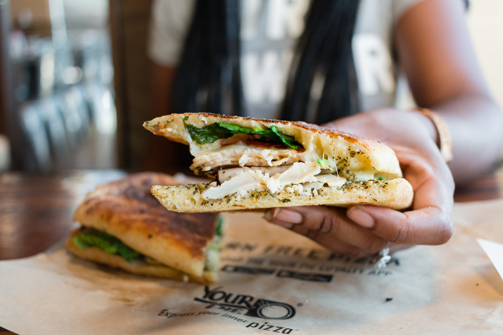 Pesto Turkey Panini