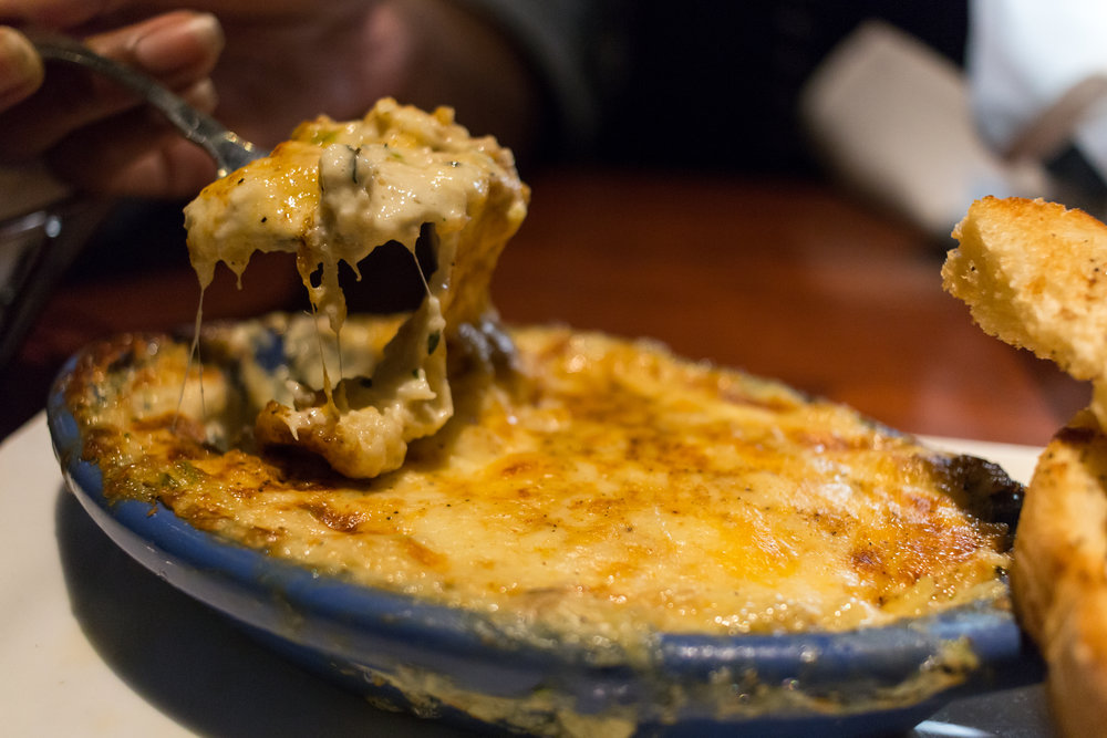 Three-Cheese Crab Dip