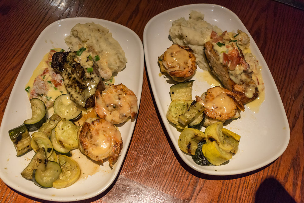 Crabfest® Ultimate Surf & Turf & Crab Cakes and Crab-Oscar Salmon