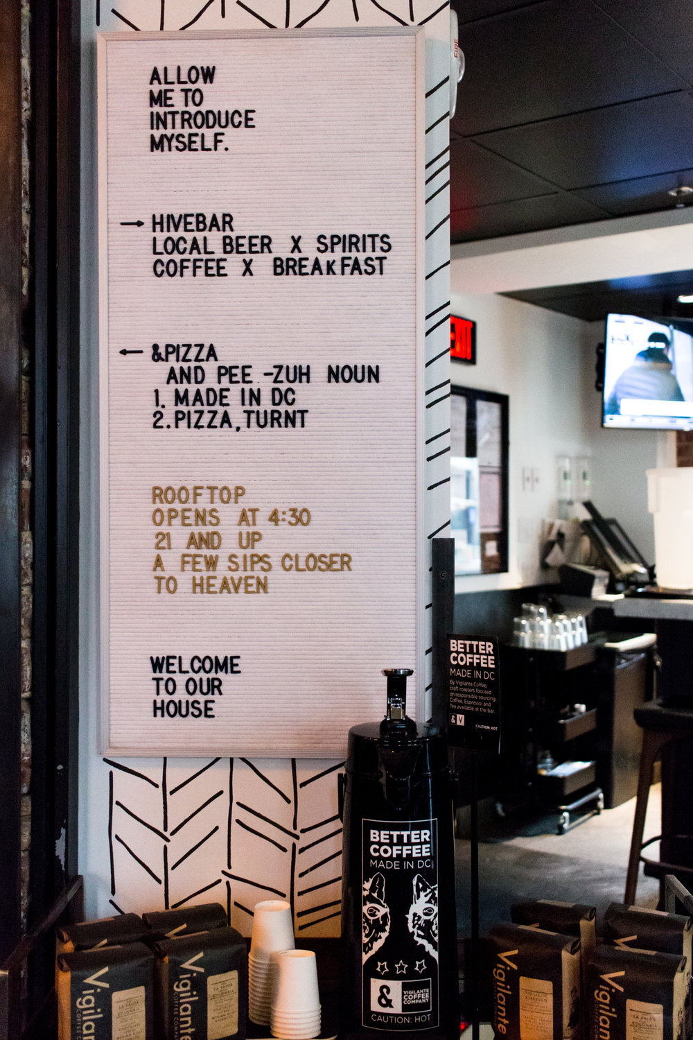 hotel-hive-quirky-micro-hotel-menu-sign