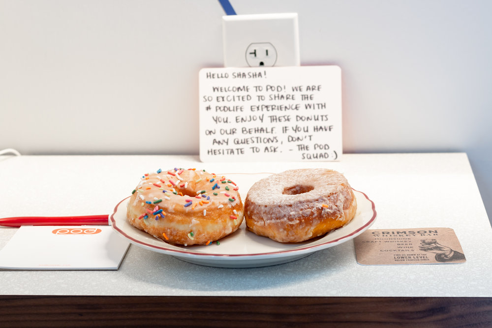 Sweet notes and even sweeter treats!