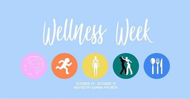 Wellness Week 2018 is presented by Gamma Phi Beta, a Panhellenic sorority at Columbia. Throughout the week, Gamma Phi will host a series of events and workshops to promote wellness. Each day will be dedicated to a different aspect of health!! For more information, please go to @columbiagammaphi :)