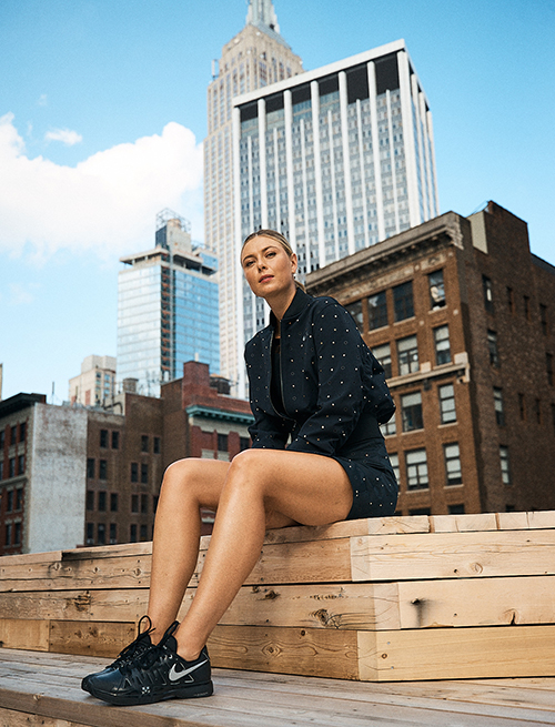 Maria sharapova - Nike court