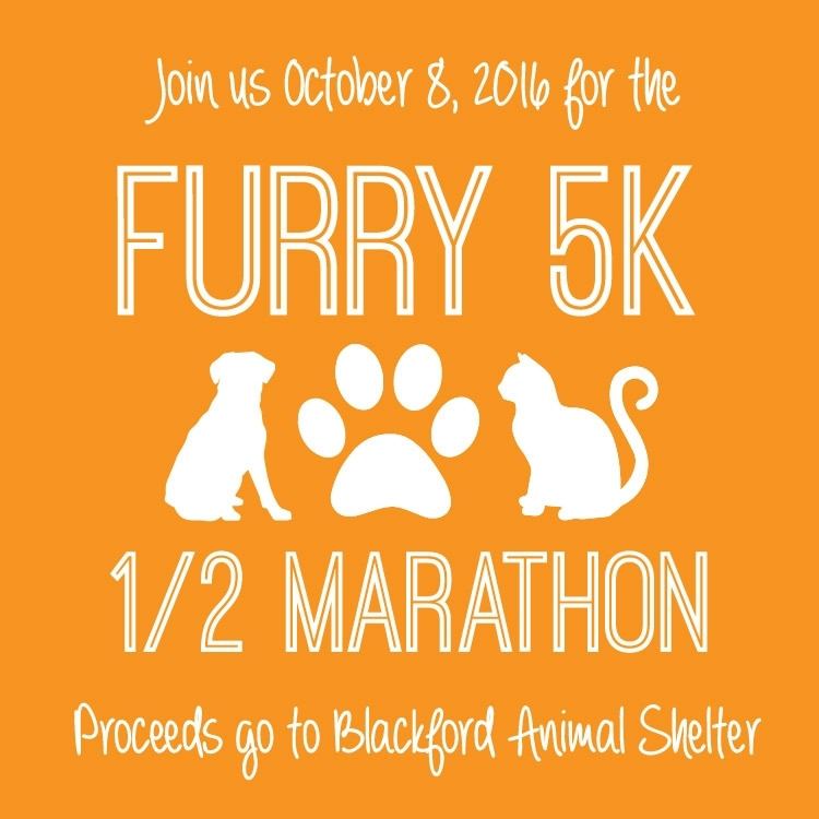 As part of the Furry 5k & Half Marathon Fundraiser, I designed a profile picture that participants and promoters of the event could temporarily change their profile pictures to. It was also used on the event page.