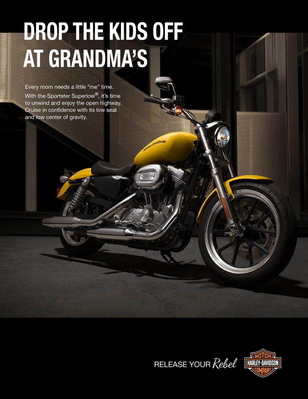 Harley Davidson: Release your rebel