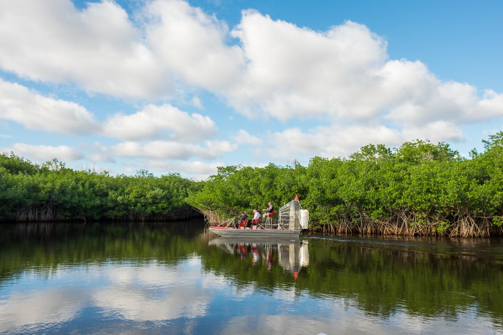 Airboats are an integral part of the Everglades heritage and history.