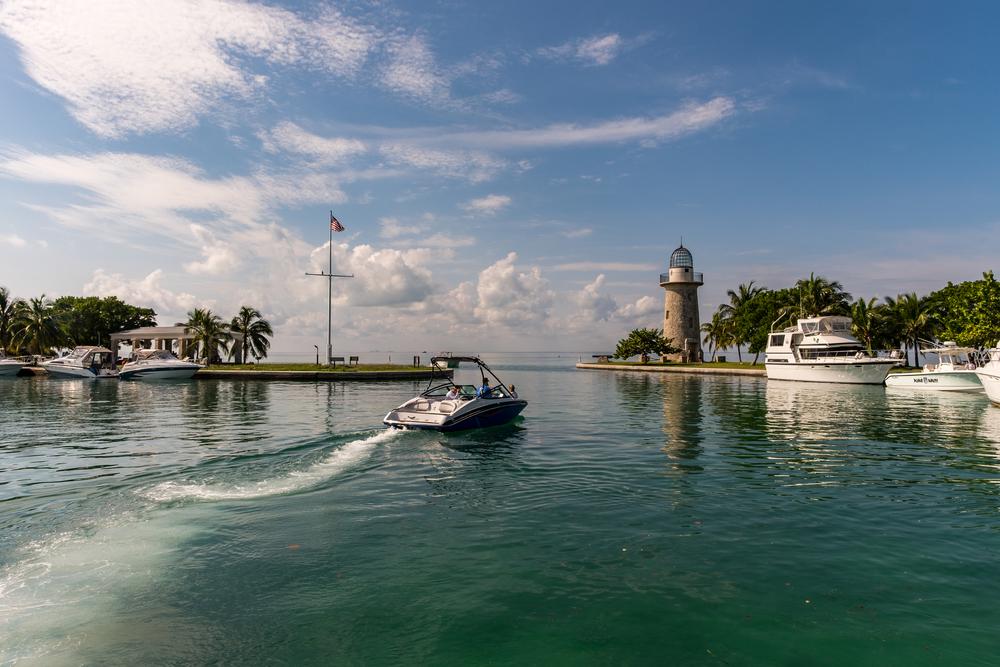 The Harbor at Boca Chita Key, Biscayne National Park's best-known area.  Credit: Jonathan Irish