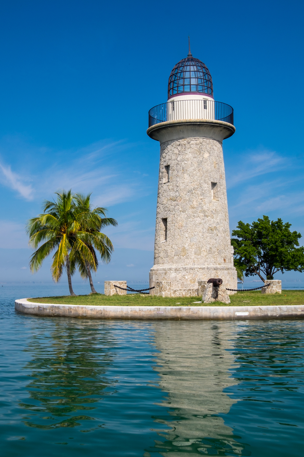 A view of the lighthouse.