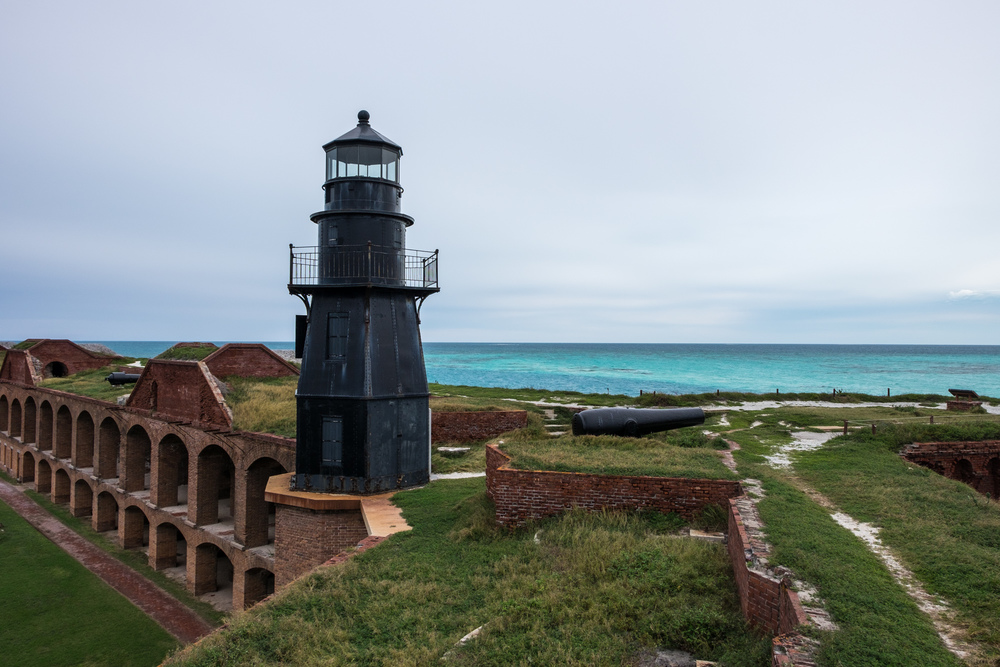 The fort lighthouse.