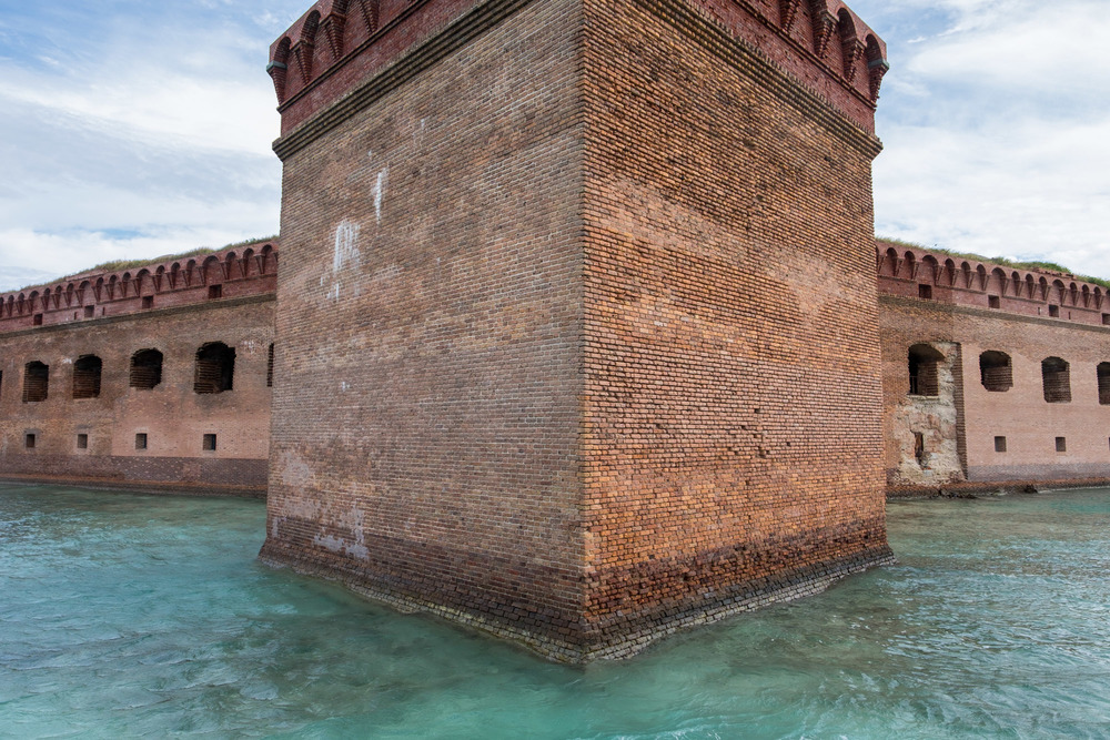 Fort Jefferson is a beautiful, and imposing, structure.