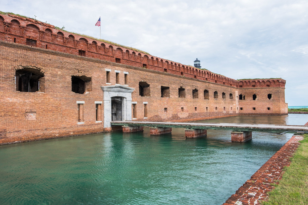 Civil War-era Fort Jefferson.