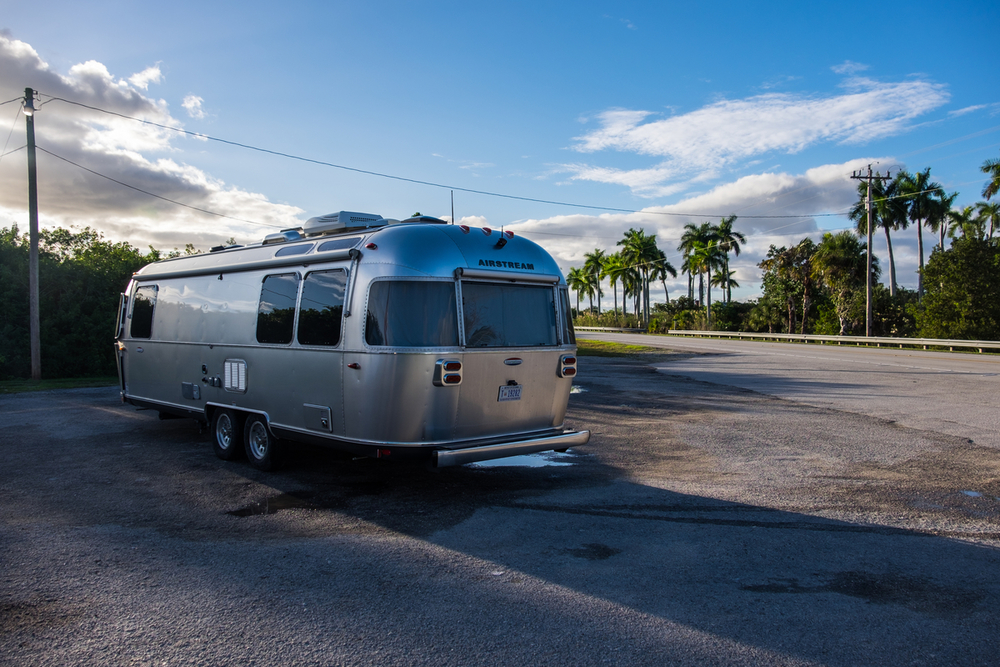 Airstream in the Everglades