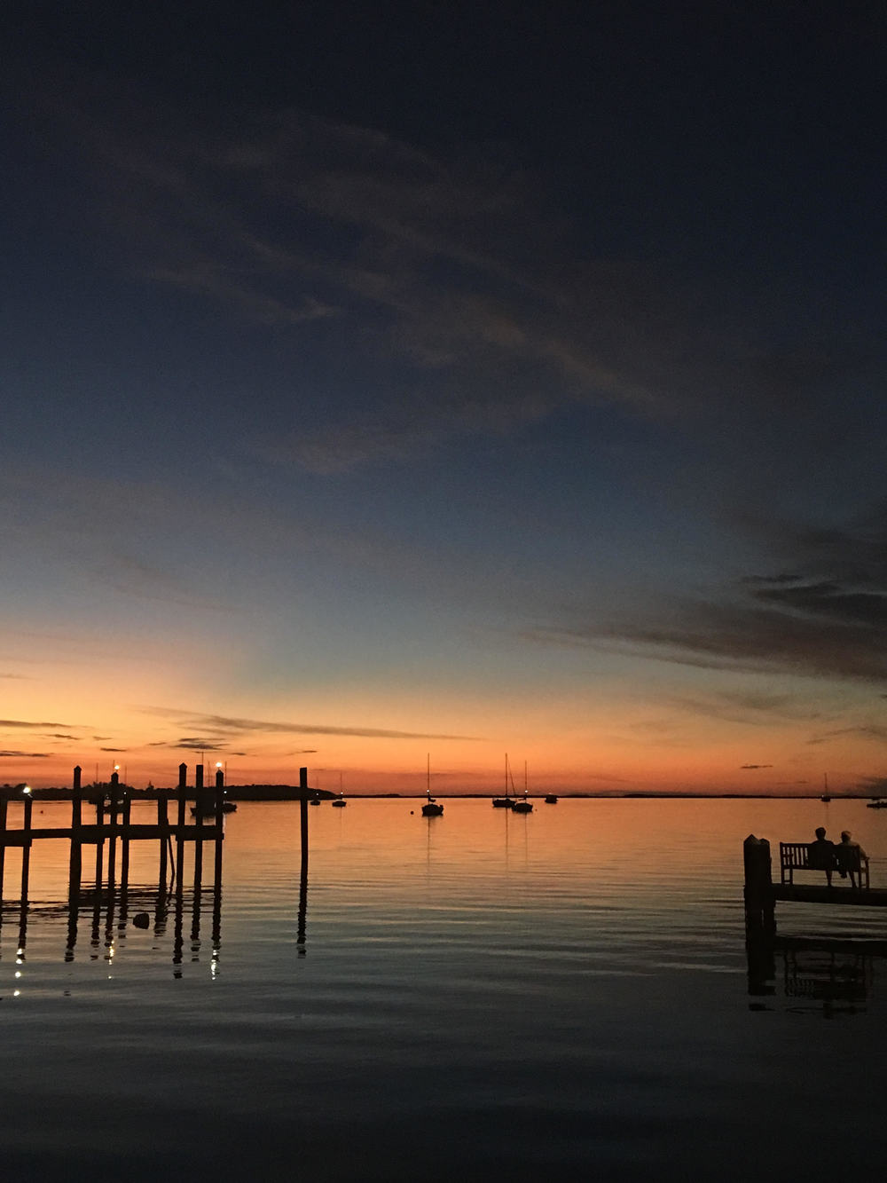Sunset on the Bay side of Key Largo en route to Biscayne National Park. Photo credit: Stefanie Payne