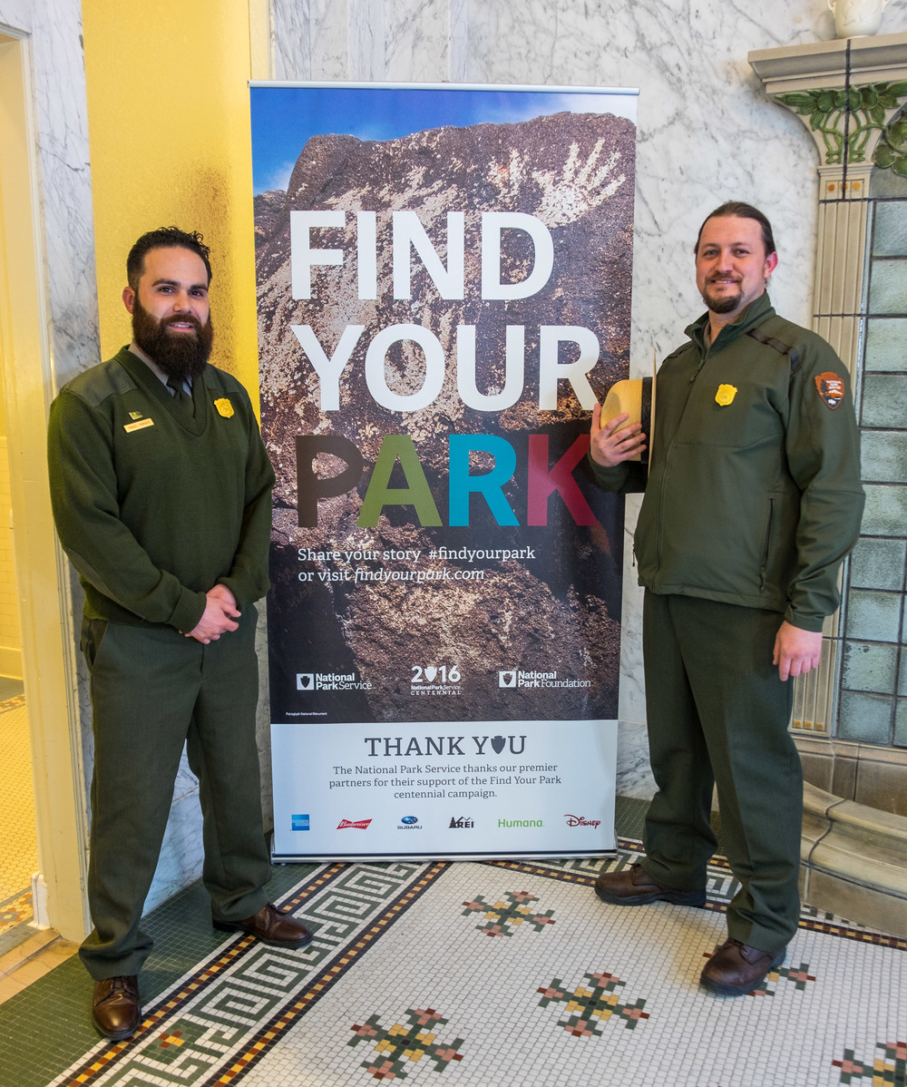 Our new buds, Ranger Miguel and Ranger Kevin. You couldn't meet nicer guys. In fact, all of the rangers we've met thus far are amazing people who love their jobs and the parks they represent. They deserve our support and admiration for the work they do in protecting our most important natural places.